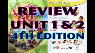 Let's go - Let's begin - Let's review- Unit 1&2 + School supplies (the latest one)