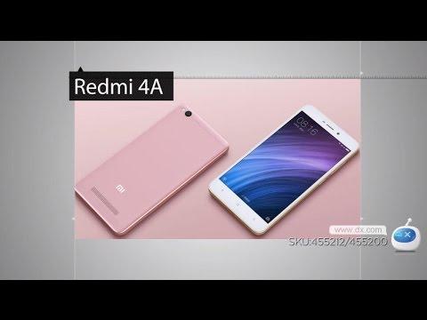 """Xiaomi Redmi 4A 5"""" 4G Dual SIM Phone w/ 2GB RAM + 16GB ROM - Rose Gold"""