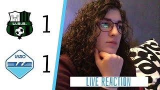 Pareggio amaro... SASSUOLO 1-1 LAZIO | LIVE REACTION