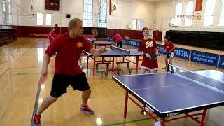 Tutorial di sport: Ping Pong! San Ten Chan  mostra allenamento vincente