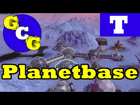 Planetbase Tutorial - Ice Planet: Starter Base Guide and Tips