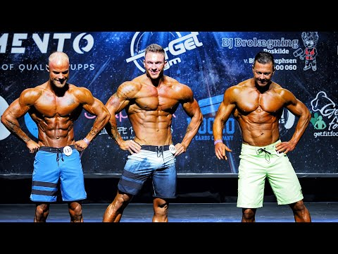 MEN'S Physique Tall Class - IFBB PRO NORDIC Pro Qualifier October Show