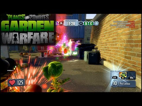 Plants Vs Zombies Garden Warfare Part 2 Gnome Bomb Chaos Xbox One Gameplay Youtube