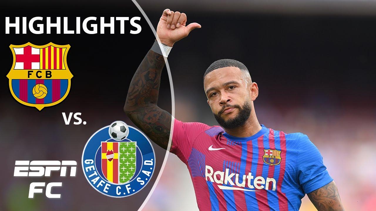 Goals and highlights Barcelona 2-1 Getafe in LaLiga