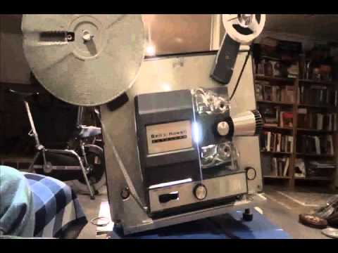 bell and howell super 8 auto loader film projector youtube. Black Bedroom Furniture Sets. Home Design Ideas