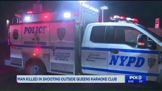 Deadly shooting outside Queens karaoke club: police