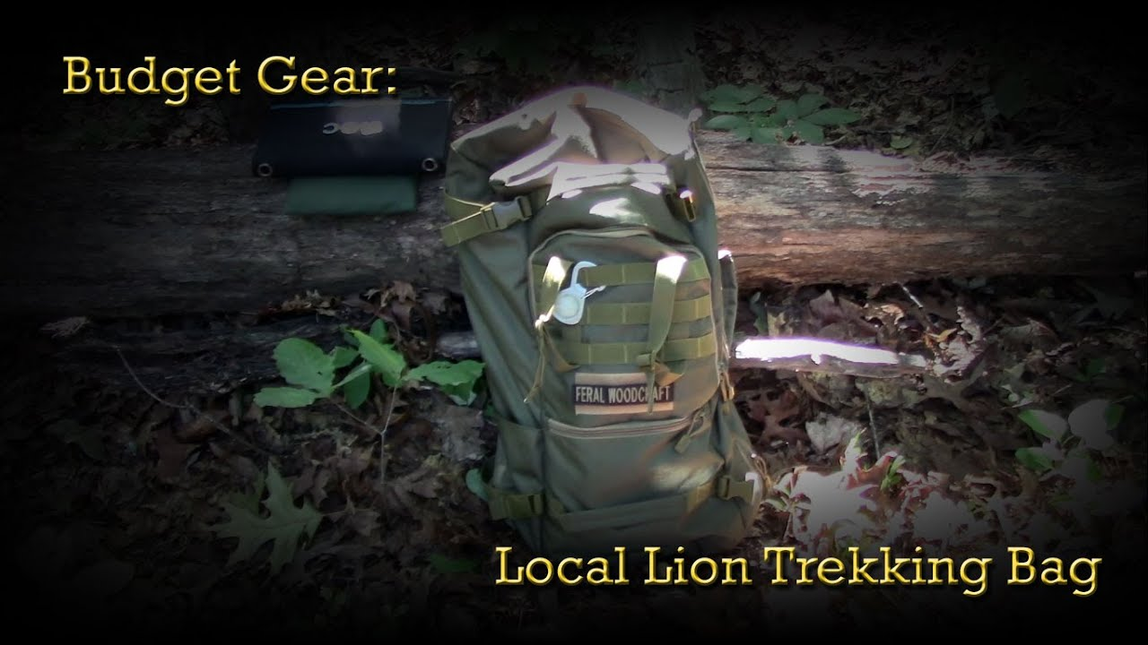 Budget Gear  Local Lion 50 Liter Trekking Bag - YouTube 3071461348f43