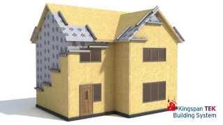 How the Kingspan TEK Building System works