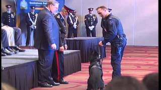 Police Dog Swearing In