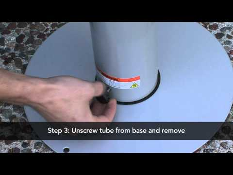 Outdoor Ashtray Stand - How To Empty A Free Standing Ashtray