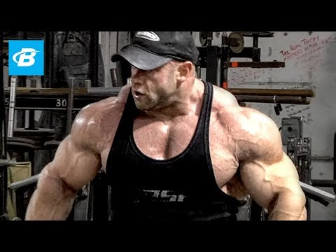IFBB Pro Branch Warren's Shoulder Workout for Mass | Classic Workout (HD)