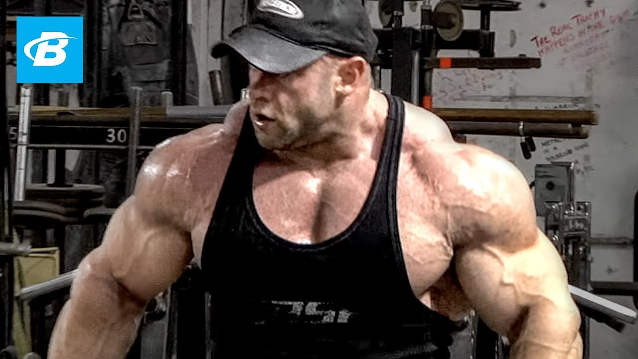 IFBB Pro Branch Warrens Shoulder Workout For Mass