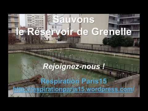 Sauvons le Réservoir de Grenelle