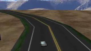 3D Car Game using 3DzzD Java 3D engine