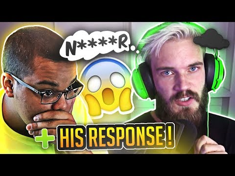 PEWDIEPIE DROPPING THE HARD R. THE IMPACT. (RACIST?)