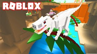 DOMESTICA DINOSAURIOS SALVAJES!! - ROBLOX FEED YOUR PETS