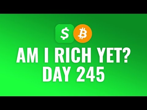 Buying $1 Bitcoin Every Day With Cash App - DAY 245