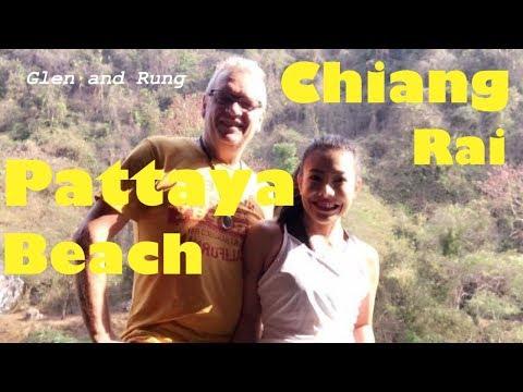 Pattaya Beach in Chiang Rai with Glen and Rung