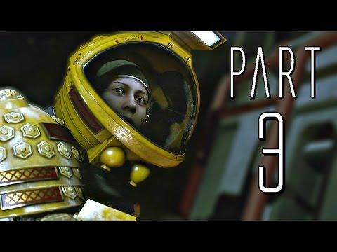 Alien: Isolation (PC) - Part 3 (Flashlight / Transit Station / Lorenz SysTech Spire) Gameplay