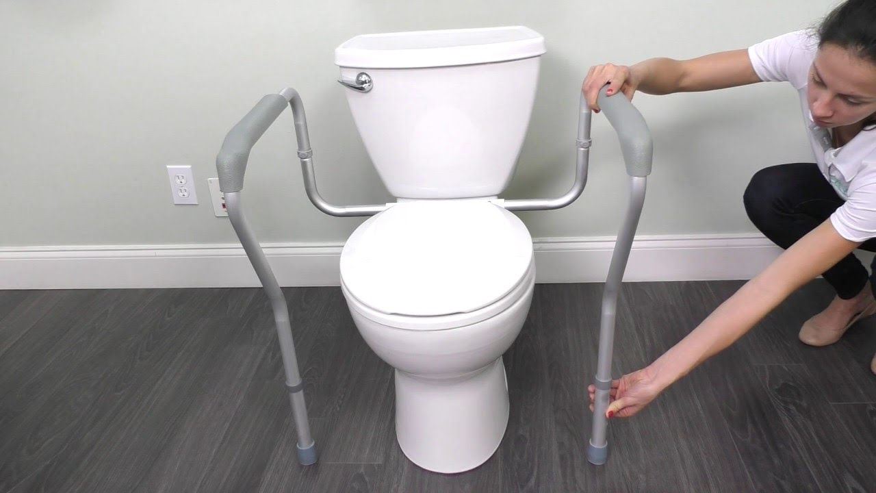 How To Assemble The Toilet Safety Rail Vive Health Youtube