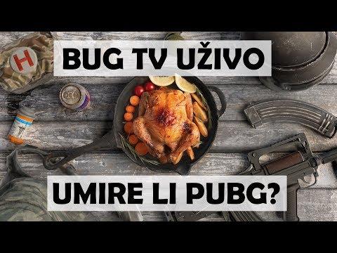 BUG TV UŽIVO: Umire li PUBG?
