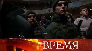 ВОдессе радикалы сорвали моноспектакль Константина Райкина.