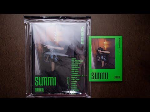 Unboxing   Sunmi 2019 World Tour Photobook Makestar Project