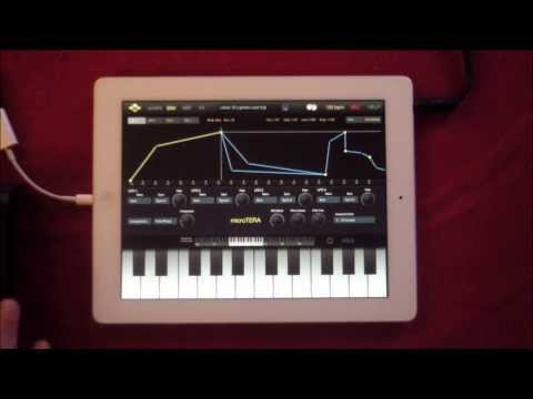 microTERA Synth from VirSyn, Demo and Tutorial for iPad