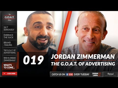 Jordan Zimmerman, AKA Advertising's Bad Boy, on Building his $4.4B Agency | The G.O.A.T. Show 019