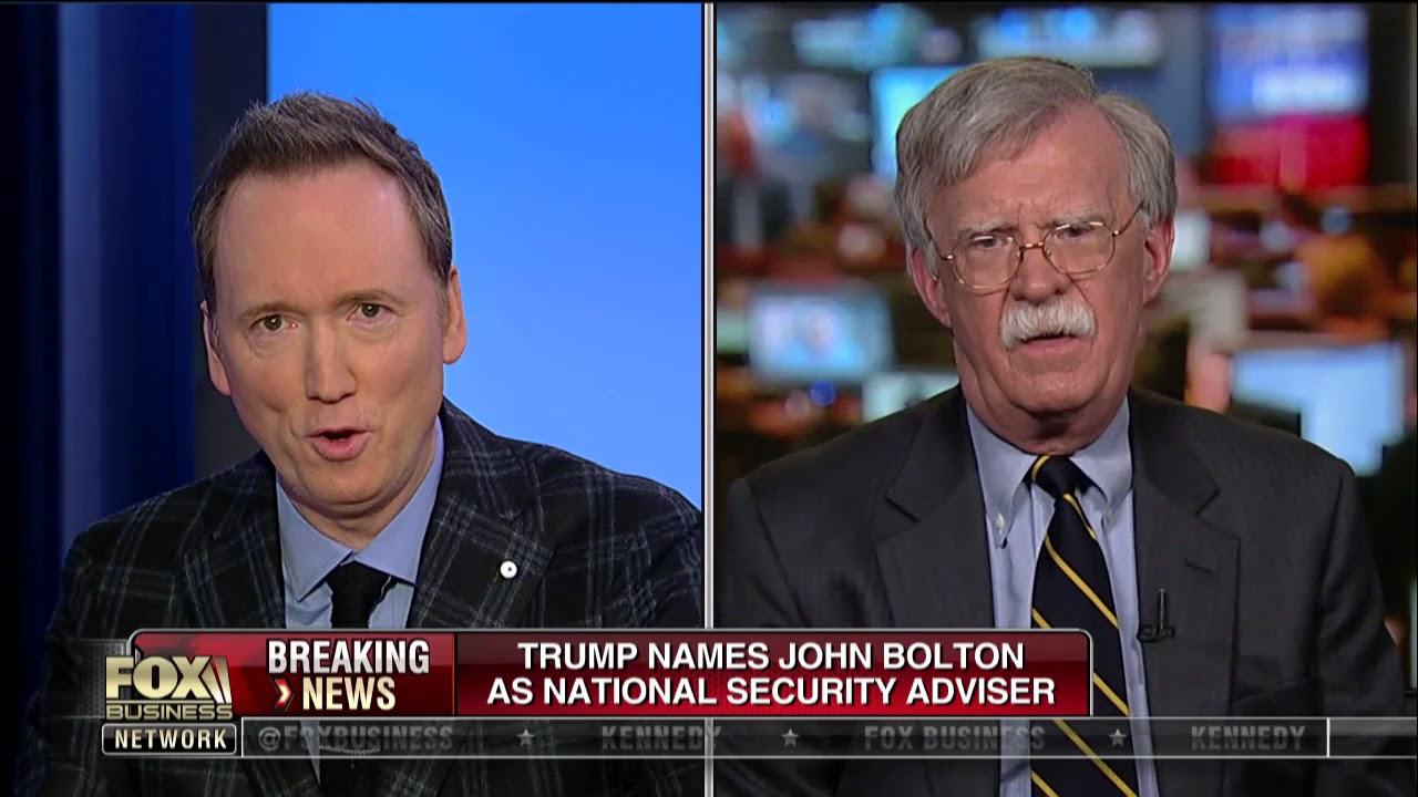 John Bolton goes from Fox News contributor to subject of criticism ...