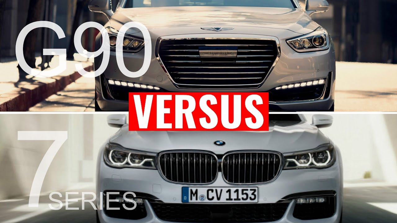2017 Genesis G90 Vs Bmw 7 Series