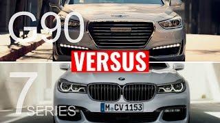 2017 GENESIS G90 VS BMW 7 SERIES