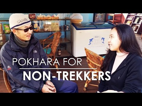 Nepal Vlog 4 - Exploring Pokhara (Shanti Stupa, Japanese Cafe, Pame Village)