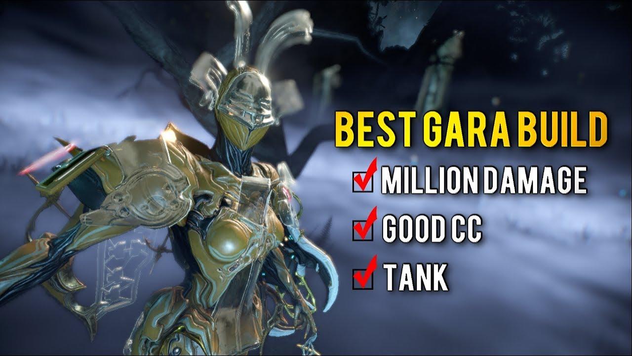 Best Tank Warframe 2019 Warframe: BEST GARA BUILD | CC/DAMAGE/TANK BUILD   YouTube