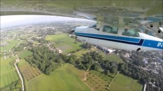 GoPro: Cessna 210 Traffic Pattern in Plaridel Airport