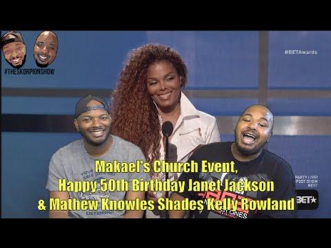 Makael's Church Event, Happy 50th Birthday Janet Jackson & Mathew Knowles Shades Kelly Rowland