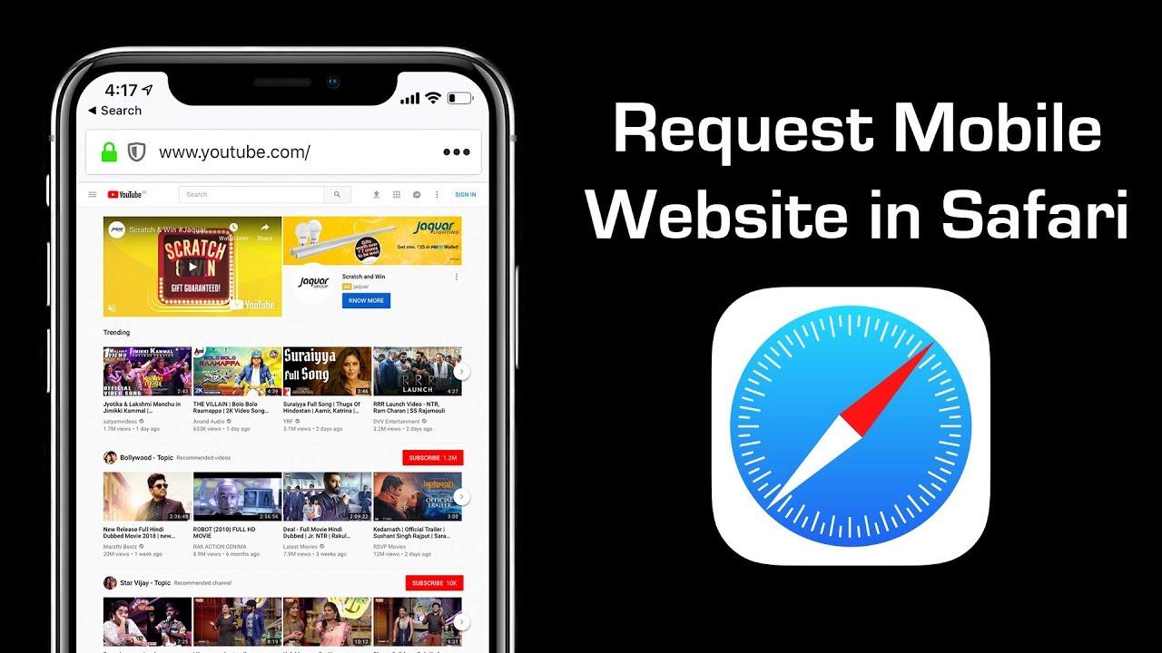 Go Back to Mobile Version After Requesting Desktop Site on
