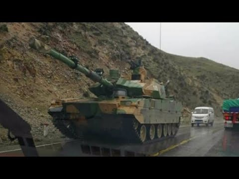 China confirms conducting trials of new light battle tank in Tibet