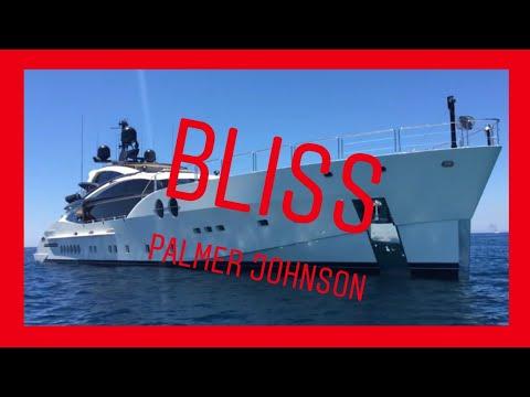 Mega Yacht BLISS by Palmer Johnson visit Ibiza & Formentera
