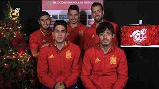 Felicitación de Navidad de la selección española de fútbol