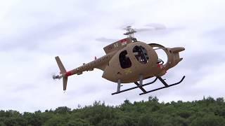 MD 500 Defender 600size Hovering check スケール ヘリ MD500 ホバリングチェック