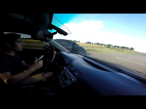 Камри 3.5 vs Honda Type R Топор в деле