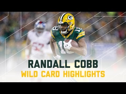 Randall Cobb 116 Yards & 3 TDs! | Giants vs. Packers | NFL Wild Card Player Highlights
