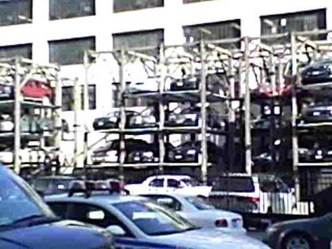 Brooklyn new york parking garage.