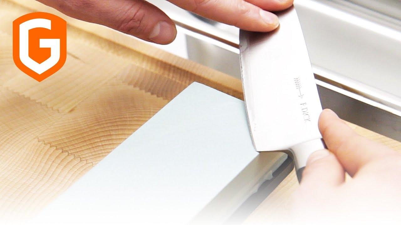 messer sch rfen und pflegen schleifstein schnelle. Black Bedroom Furniture Sets. Home Design Ideas