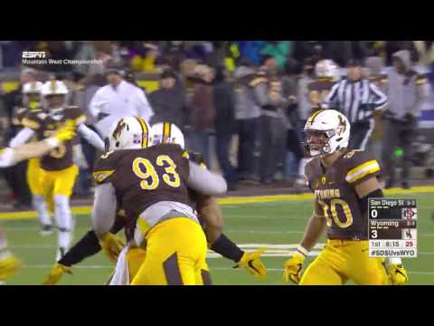 Highlights: Football vs. San Diego State (2016 MW Championship)