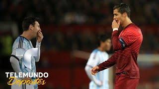 ¿Cristiano le mandó un mensaje oculto a Messi? | Más Fútbol | Telemundo Deportes