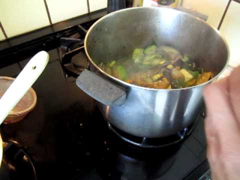 Cooking   Eggplant, Capsicum, Yellow, Grey, Green Squash 02