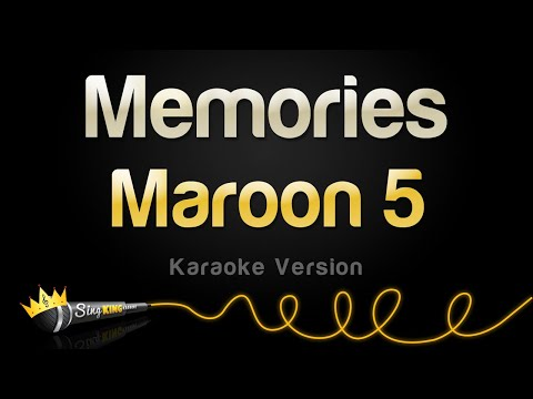 Maroon 5 - Memories (Karaoke Version)