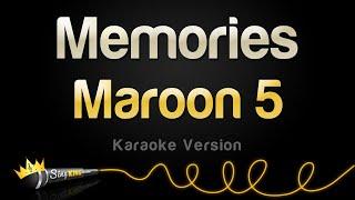 Maroon 5 - Memories  Karaoke Version
